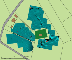 2013 magnetometry survey of the Ecclesiastical site at Clonca, County Donegal