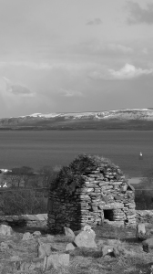 Lough Foyle from Cooley graveyard, Moville